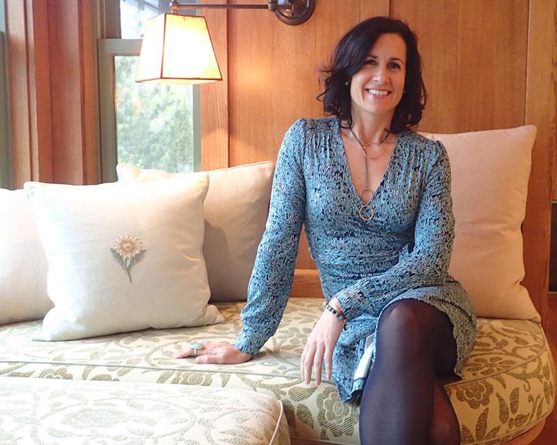 Interior designer Kristen Meissner