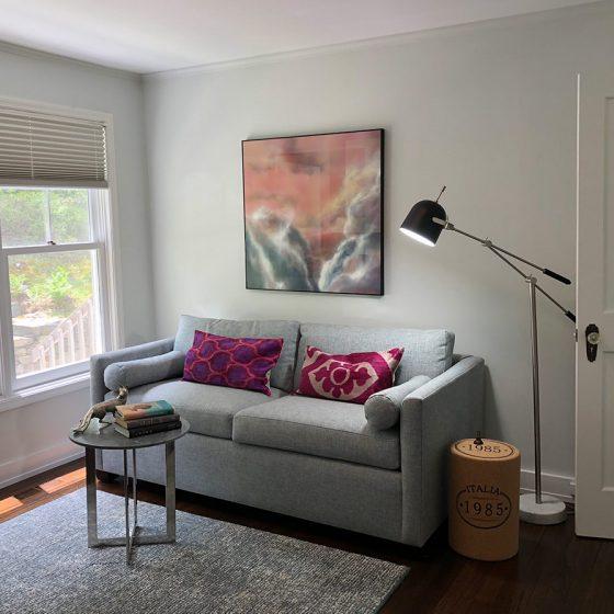 Serene sitting area