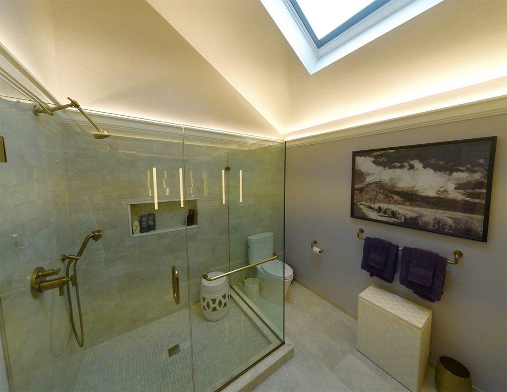 Bathroom and lighting design